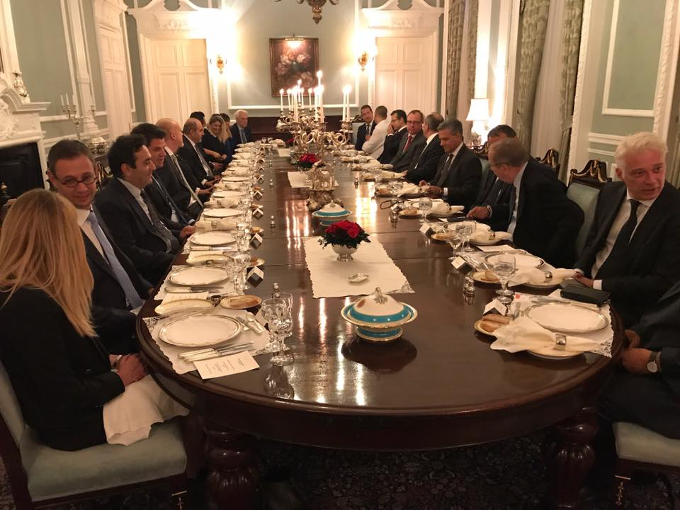 Turkish Ambassador S Dinner For Tbcci Patron Members Tbcci Turkish British Chamber Of